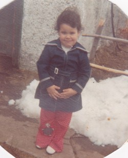 What a cutie!  1974 in upstate New York.
